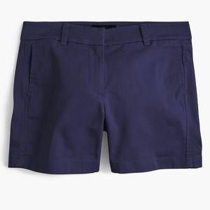 """5"""" classic chino shorts - navy"""